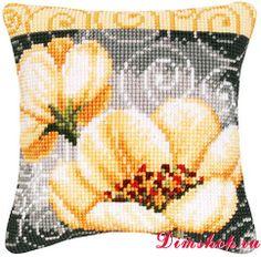 Embroidery set Vervaco PN-0009121 Anemones