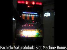 Pachislo Sakurafubuki Slot Machine Bonus