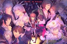 Rhythm Games, Slice Of Life, Idol, Manga, Wallpaper, Cute, Anime Boys, Dark, Sexy