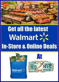 Get the latest Walmart coupons and in-store and online deals. Whether you're a beginner couponer, or looking for ways to save money, Hip2Save has got you covered.