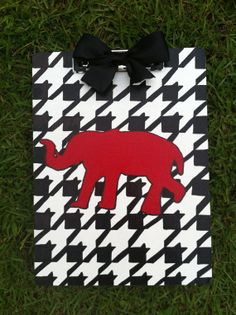University of Alabama Clipboard by DIYandI on Etsy, $12.00