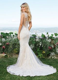 On Trend: Illusion Back Wedding Gowns » The Blushing Bride boutique