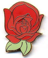 Pin 5538: Disney Gallery - Alice Series - Red Rose