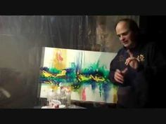 Tips and Tricks for the Acrylic Abstract Artist!  Part 2
