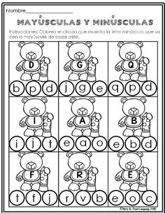 El Alfabeto Hojas de Trabajo Alphabet Practice Pages- Spanish  This product includes 22 pages to practice identifying capital and lower case letters and alphabetical order of just letters.