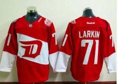 089785db4 Detroit Red Wings  71 Dylan Larkin Red 2016 Stadium Series Hockey Jersey