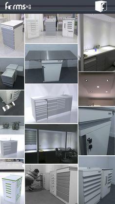 Galería de imágenes - Muebles odontológicos.