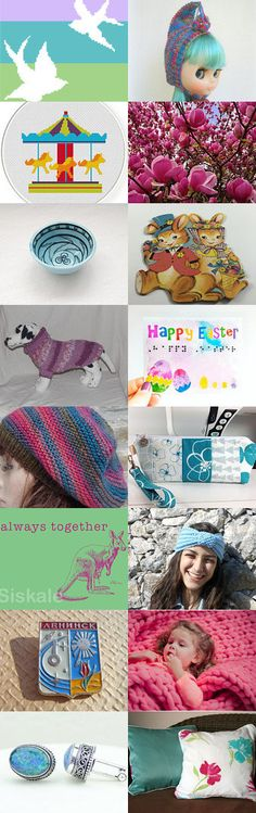 Inspired by Sping by Marianne on Etsy--Pinned+with+TreasuryPin.com