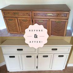 Cabinet Makeover Simple DIY