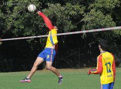 Colombia quiere llenarse de experiencia en fistball La preselección nacional está conformada por jugadores caleños menores de 18 años, que cursan estudios universitarios.