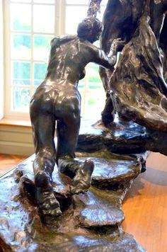 L'âge mûr (détail) vers 1890 par Camille CLAUDEL (1864-1943). Bronze n°1. Musée Rodin, Paris. Photo : Hervé Leyrit