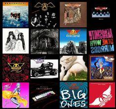 aerosmith albums -