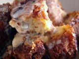 Panettone Bread Pudding with Amaretto Sauce Recipe