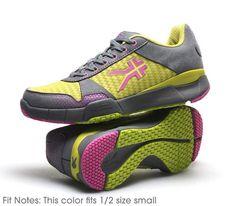 Quantum Fuchsia, Citrus, & Gray for $104.97- Women's Performance Fitness Walking Trainer (Great for Heel Pain) www.kurufootwear.com