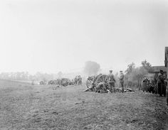 The First Battle of Ypres. The British Expeditionary Force experienced its worst day yet as wave after wave of German infantry attacked its positions. Despite desperate resistance, Lieutenant General Edmund Allenby's Cavalry Corps lost its hold on Messines Ridge. The 13-pound guns of E or J Battery, Royal Horse Artillery, in support at Wytschaete, October 31, 1914.