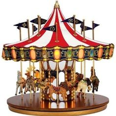 free images of Huge Carousel Decoration Music Box - Google Search