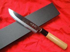 アウトドア・狩猟用ナイフ  - 本物の和の刃物 西田刃物工房 【大祐作】