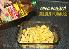 Olive Oil Roasted Potatoes