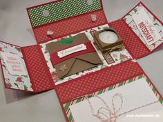 5 minutes of Christmas 5 Min Crafts, Foam Crafts, Diy And Crafts, Paper Crafts, Scrapbook Box, Christmas Gifts, Xmas, Christmas Ideas, Exploding Boxes