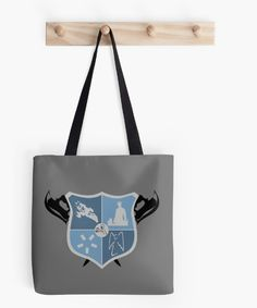 "Whedonverse Coat Of Arms Collection ""I WRITE TO EXPLORE ALL THE THINGS I'M AFRAID OF."" Pay homage to Sir Whedon with this unofficial coat of arms.  #joss #whedon #josswhedon #crest #buffy #dollhouse #drhorrible #firefly #serenity #angel #gift #tote #totebag #bag"