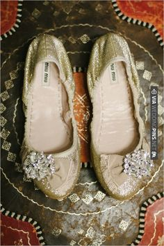 miu miu goldf lats | CHECK OUT MORE IDEAS AT WEDDINGPINS.NET | #weddingshoes