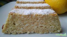 Almás kókuszos szelet Healthy Sweets, Healthy Recipes, Cornbread, Vanilla Cake, Ethnic Recipes, Food, Projects, Millet Bread, Log Projects