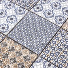 Mosaikfliesen Keramik Zement Optik Classico