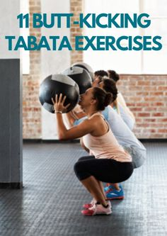 Check out these tabata exercises. 11 Butt-Kicking Tabata Exercises http://www.active.com/fitness/articles/11-butt-kicking-tabata-exercises?cmp=17N-PB33-S14-T1-D1--1096