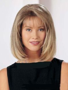 New Brown Blonde mix Straight Wigs Short Hair Wigs Women's Fashion Wig #Bangs