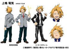 Tasuku Hatanaka en la voz de Denki Kaminari en el anime Boku no Hero Academia.