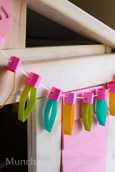 DIY Kids Room Decor - Paper Lights Perfect for room decor or any holidays like Christmas or Birthday party.