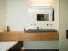 Complete foto badkamermeubel met spiegel