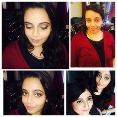 Makeup by me #practicemakesperfect #happy #pretty #lovewhatido #ProfessionalMakeupCourse @chandnisinghsalon #contouring #eyeshadow #instago #igers #nofilter #India #igmasters #webstagram #tweegram #TagsForLikes #picoftheday #smile #Delhi #look #makeupartist #shruti #makeupartistShruti what do you think