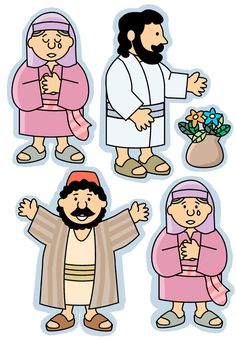 Bible Story Figures - Jairus This website has really cute Bible figures for lots of stories!!!