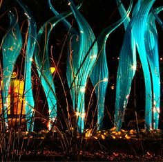 #Chihuly glass installation.