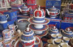 Emma Bridgewater's beautiful designs for the Queen's Jubilee.