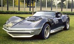 1969 Corvette Manta Ray concept  Looks just like Austin's