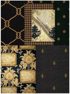 black-and-gold-fabrics