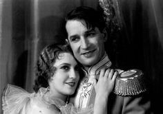 """3rd Academy Awards - November 5, 1930. Nominated for the Academy Award for Best Picture - """"The Love Parade"""". Directed by Ernst Lubitsch (1892-1947). Pictured : Jeanette MacDonald (1903-1965) and Maurice Chevalier (1888-1972)"""