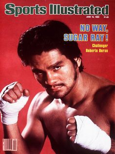 "Roberto Duran ""Manos de Piedra"" says NO WAY to Sugar Ray Leonard in their Brawl In Montreal in 1980.Duran went into the fight with a 71/1 with 56 Knockouts Record.."