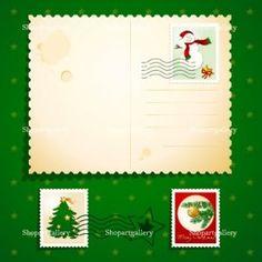 Christmas postcard © Luisa Venturoli