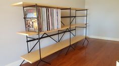 Vinyl Record Shelving Storage Unit