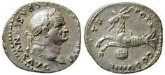 https://flic.kr/p/951gsJ   Roman Coin - emperor Vespasianus with capricorn   capricorn or goatfish from the zodiac