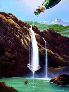 arte realista y surrealista | Arte Surrealista - Jim Warren