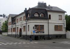 Ravintola Harmooni Harmoonitehtaan vanhassa talossa