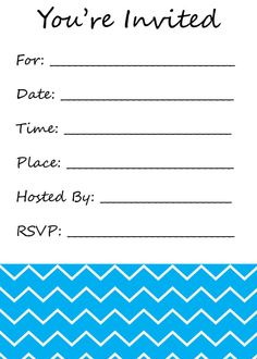 free printable birthday party invitations for adults and kids diy