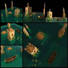 Voxel City by Parocat on DeviantArt