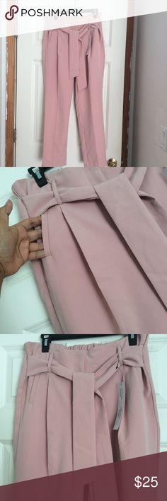 Dressy pants blush color Brand new Pants