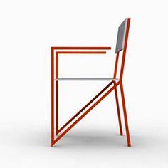 Ergonomic Chair Ultra Modern Seating Furniture Design Alpha JDD UK.