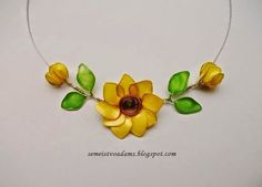 How to make...: Wire flowers with nail polish